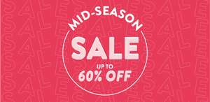 Mid-Season Sale - Up to 60% off @ Sass & Belle
