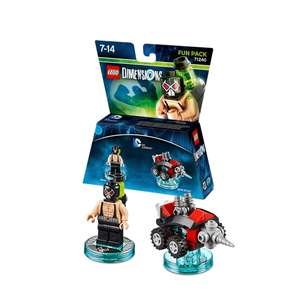 Lego Dimensions Bane fun pack and Mission Impossible level pack further reduced £0.99 at Smyths