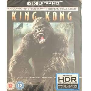 King Kong  - 4K Ultra HD + Blu-Ray+ Digital HD  (like new) £6.92 ebay /  thetradeinn