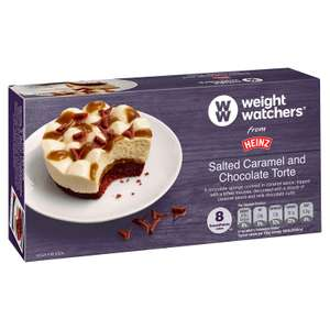 Fultons Foods - Weight Watchers Salted Caramel & Chocolate Torte 2 pack - 2 for £1.00