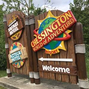 Chessington 1 Day Adult + Pre-schooler Ticket for £22