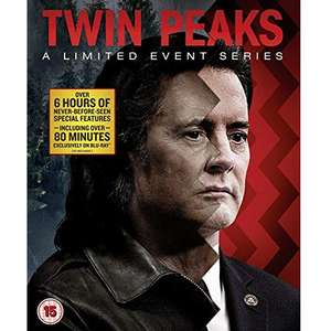 Twin Peaks (2017 series) - Blu-Ray - £17.36 (+ £2.99 non-prime) @ Amazon