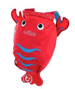 Save 15% on Trunki's Paddle Pack swimming bags with code e.g. Pinch the Lobster - Medium PaddlePak - £17 at Trunki Shop