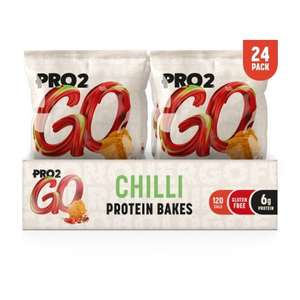 PRO 2GO BAKES High in fibre & only 207 kcals (Short Date) + FREE DELIVERY £15+ @ Sci Mix