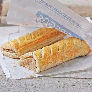 Free Greggs Sausage Roll/Vegan Roll/Cheese and Onion bake via Vodafone VeryMe