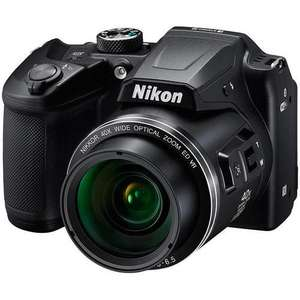 "Nikon COOLPIX B500 Digital Camera, 16MP, HD 1080p, 40x Optical Zoom, Wi-Fi, Bluetooth, 3"" LCD Screen - £199 @ John Lewis & Partners"