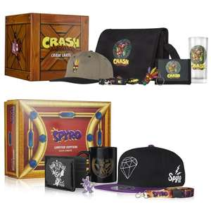 Crash Bandicoot Collectable Big Box Crate // Spyro the Dragon Collectable Big Box now £16.18 delivered each with code @ Zavvi