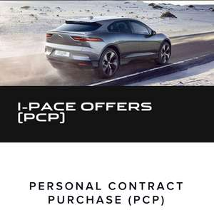 Jaguar iPace  - £11870 Deposit, £10 fee + 36 monthly payments of £599 and optional final payment of £41004 - Total £77938 @ Jaguar