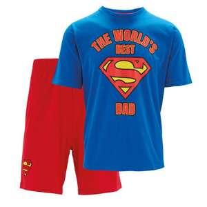 Better Than 1/2 Price : Mens Superman Cotton Pyjamas Now 19p @ Aldi ( Instore only )