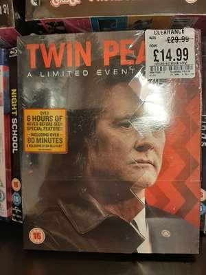 "Twin Peaks ""Limited Event Series"" (aka Season 3) bluray - £14.99 at HMV Harrogate"
