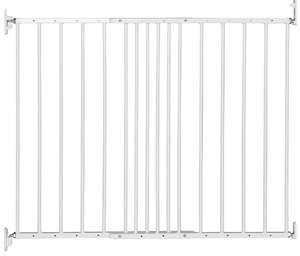BabyDan Multidan Extending Metal Safety Gate, White - Fits Openings 62.5cm - 106.8cm just £10.99 (Prime) @ Amazon (+£4.49 Non-Prime)