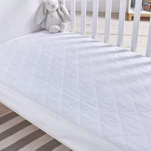 Silentnight Safe Nights Quilted Cot Bed Waterproof Mattress Protector - £6 (Prime) + £4.49 (non Prime) at Amazon