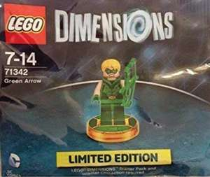 Lego Dimensions Green Arrow Exclusive 71342 - £4.99 (Prime) / £9.48 (non Prime) Sold by Rush Gaming and Fulfilled by Amazon.