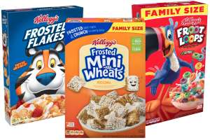 Spend £5+ on Kelloggs Cereal at Tesco and Receive Voucher for £5 off £25 Spend on F&F Clothing