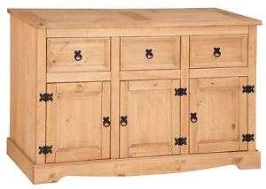 Corona Sideboard Large 3 Door 3 Drawer £68 at Mercers Furniture eBay