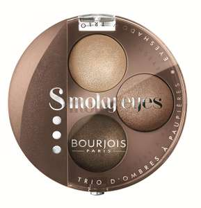 Bourjois Smoky Eyes Trio Eyeshadow Nude Ingenu - £3.19 / +£4.49 non Prime - Sold by Jaks Beauty Parlour and Fulfilled by Amazon
