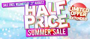 Half Price Summer Ticket Sale compared to the gate prices at Drayton Manor