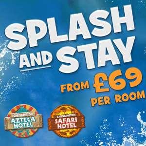 Chessington Resort overnight stay + breakfast + entry to Savannah Splash Pool + Wanyama Village & Reserve from £69 (2a/2c) @ Chessington