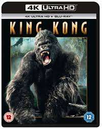 King Kong 4K Ultra HD Blu Ray - Like New £6.69 @ cardboardstory4/eBay