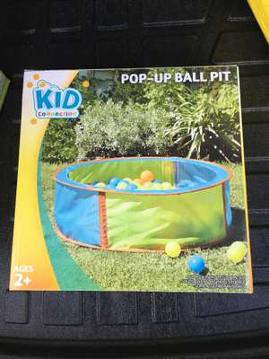 Kid Connection Pop Up Ball Pit 70p instore @ Asda Kirkcaldy