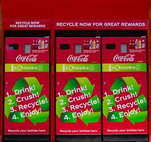 Alton Towers Deals 50% off ticket price for recycling bottles