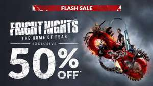 Thorpe park 1 day fright night and hotel - £99 for 2 - Flash Sale