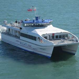 1 Adult & 2 Child Day Trip from Portsmouth to Ryde (Isle of Wight) £20 (Wightlink Fastcats) @ Wightlink