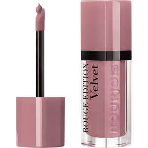 Bourjois Rouge Edition Velvet Liquid Lipstick £2.50 (+£4.49 Non Prime) Sold by Cosmetic Kingdom and Fulfilled by Amazon