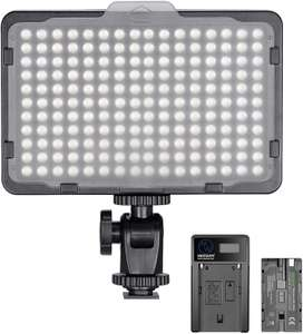 Neewer 176 Dimmable LED Video Light & 2600mAh Battery Charging Kit for £17.99 delivered @ Amazon / Nashes Camspace