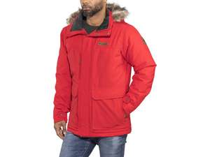 Columbia Marquam Peak Jacket M Red Men's Parka £67.98 delivered @ Snowleader