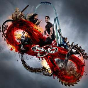Two Days Thorpe Park Fright Night Entry + Nearby Overnight Hotel from £82 for 2 people (£41pp)  @ Thorpe Breaks