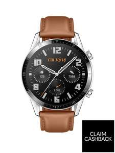 Huawei Watch GT2 46mm - Pebble Brown (Latona-B19V) £219.99 @ Very (£159.99 with new code credit account and cashback)