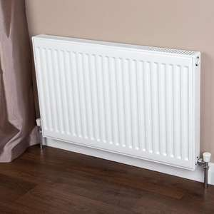 DeLonghi Single Type 11 Convector Radiator White - H 600 x W 400m - £18.98 Delivered @ Brooklyn Trading