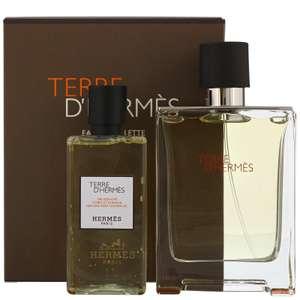 Hermes Terre D'Hermes Eau De Toilette Spray 100ml Gift Set £68.04 Delivered @ All Beauty