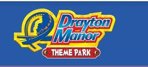 50% off Drayton Manor Season Passes (includes Halloween, Firework Spectacular, Magical Christmas & Feb '20 Half Term) Free for Armed Forces