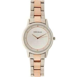 Karen Millen Rose Gold & Silver Belt Watch £21.98 Click & Collect @ TK Maxx