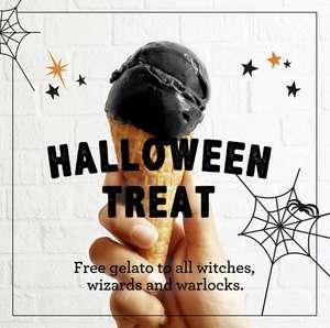 Free Black Gelato @ Bella Italia if you dress as a witch, warlock or wizard.