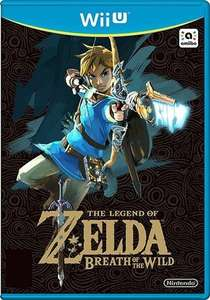 The Legend of Zelda Breath of the Wild Wii U pre-owned £18 + £1.50 delivery at CeX