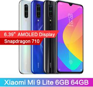 Xiaomi Mi 9 lite 64 GB Storage £158.49 @ Xiaomi MC Store / Ali Express