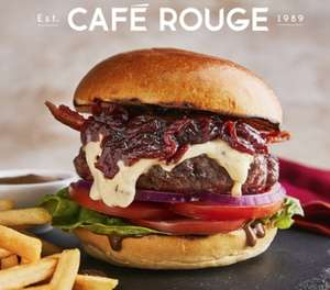Cafe Rouge - Three Course Meal for 2 £20.36 with code @ Groupon