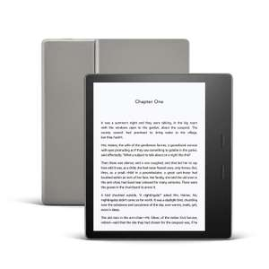 Kindle Oasis   Now with adjustable warm light   Waterproof, 8 GB, Wi-Fi   Graphite £179.99 @ Amazon