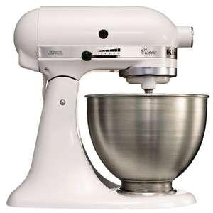 Kitchenaid Classic Stand Mixer K45 (White) - £249.99 @ Nisbets