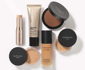 Bareminerals Make-Up 25% off online + free delivery with code