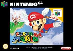 Super Mario 64 £8.99 Wii, Wii U at Nintendo E-shop