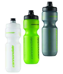 Road Bike Bottle Cannondale (750ml) - Green or transparent £2.49 (+£2.99 delivery) @ Cycle Store