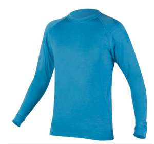 Endura Baabaa Merino Long Sleeve Base Layer Ultramarine £24.99 delivered @ Cyclestore