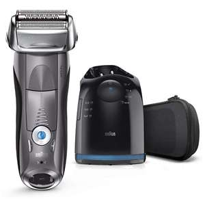 Braun Series 7 Electric Shaver with Clean and Charge Station - £129.99 @ Amazon