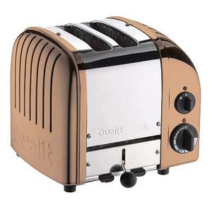 Dualit Classic 2-Slot Toaster - Copper £67.49 @ Amazon