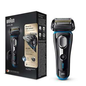 Braun Series 9 Electric Shaver for Men 9242s, Wet and Dry with Charging Stand and Travel Case, Black/Eloxal Blue £139.99 Amazon