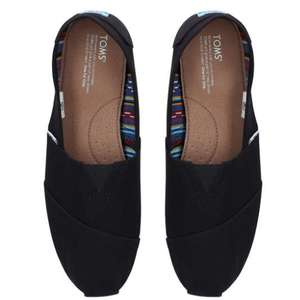 Up to 75% Off TOMS - Black Alpargata Core Slip On (Was £36) NOW £9 - Free Click & Collect or £4.95 Delivery @ Kurt Geiger